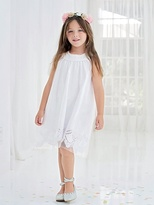 Vertbaudet Baby Girl's Occasion Dress in Glittery Tulle