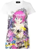 DSQUARED2 'Manga Punk Gang' T-shirt