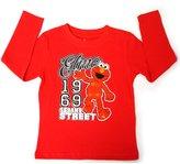 Sesame Street Elmo Cookie Monster Kids Boys Girls T-Shirts - Red