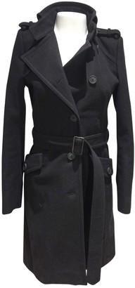 Drykorn Black Cotton Coat for Women