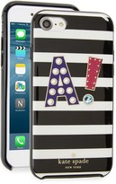 Kate Spade Initial Iphone 7 Case - Black