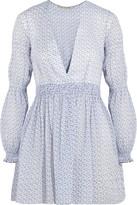Emilia Wickstead Jasmin Floral-print Cotton-voile Tunic - White