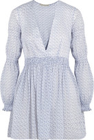 Emilia Wickstead Jasmin Floral-print Cotton-voile Tunic