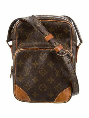 Louis Vuitton Monogram Amazone Crossbody Bag Brown