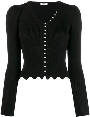 Sandro Paris Ginaz knitted top