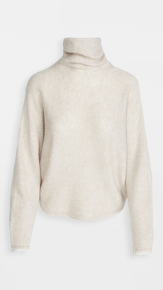 Vince Dolman Sleeve Turtleneck