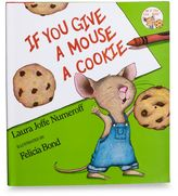 Bed Bath & Beyond If You Give A Mouse A Cookie Hardcover Book