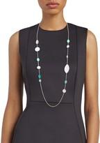 Ippolita Wonderland Sterling Silver Multi-Color Gemstone Station Necklace