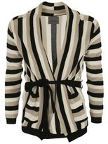 Laneus Striped Cardigan