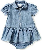 Ralph Lauren Baby Girls 3-24 Months Chambray Dress