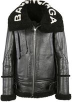 Balenciaga Aviator Shearling Jacket