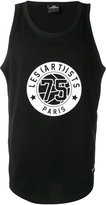 Les (Art)ists number printed vest - men - Cotton - S