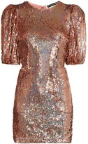 Rotate Katie sequin-embellished mini dress