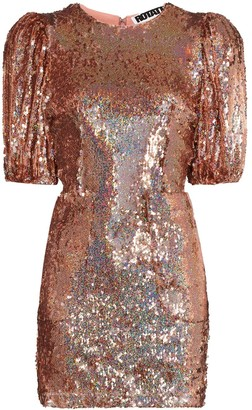 Rotate by Birger Christensen Katie sequin-embellished mini dress