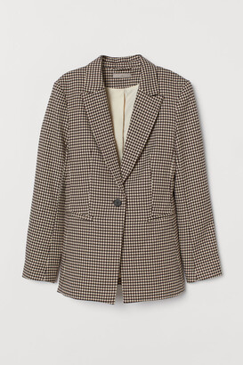 H&M Single-breasted Blazer - Red