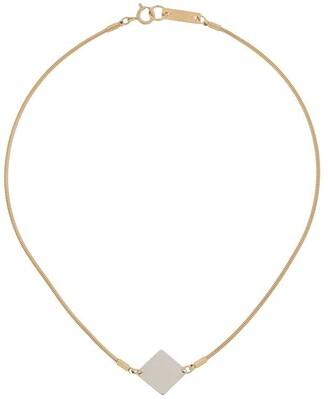 Isabel Marant Two-Tone Geometric Necklace