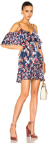Tanya Taylor Amylia Dress in Blue,Floral.