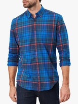 Joules Welford Check Shirt, Navy Multi Check