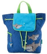 Stephen Joseph Shark Quilted Backpack 8145847