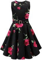 Black Butterfly Clothing Black Butterfly Kids 'Audrey' Vintage Infinity 50's Dress (, 5-6 YRS)