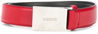 Gianfranco Ferré Pre Owned 1990s Logo Buckle Belt