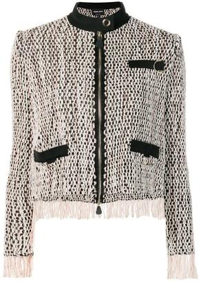 Giorgio Armani Zipped Woven Jacket