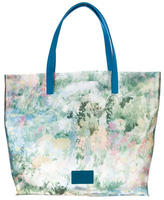 RED Valentino Floral PVC Tote