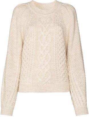 Etoile Isabel Marant Romy cable knit jumper