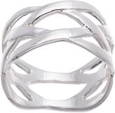 Bliss Sterling Silver Crisscross Ring