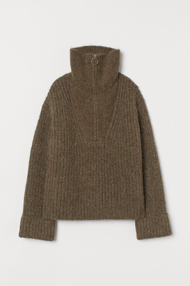 H&M Chunky-knit Wool Sweater