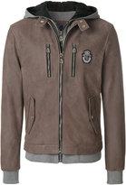 Billionaire zipped hooded jacket