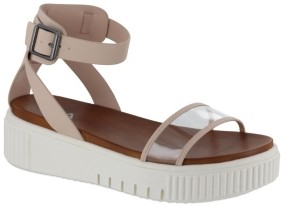 Mia Lunna Platform Sneaker Bottom Sandals Women's Shoes