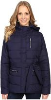 U.S. Polo Assn. Long Puffer Jacket with Belt