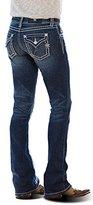 Miss Me Women's Saddle Stitch Boot Cut Jean