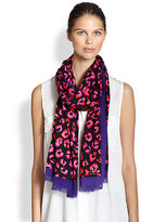 Kate Spade Disco Animal Scarf
