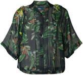 Kolor tropical print shirt