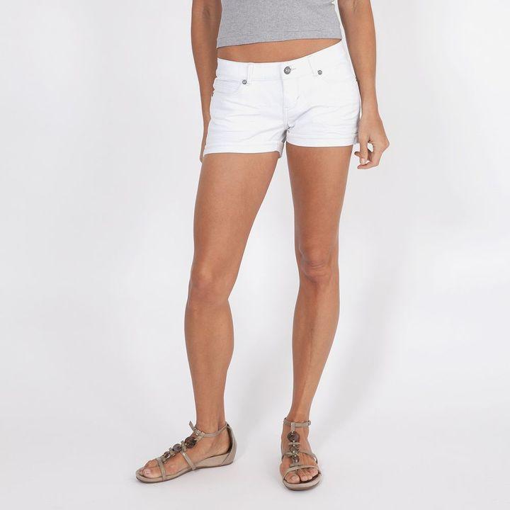 Levi's cuffed shortie denim shorts - juniors