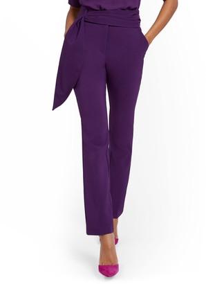 New York & Co. Sash Tie Slim-Leg Pant