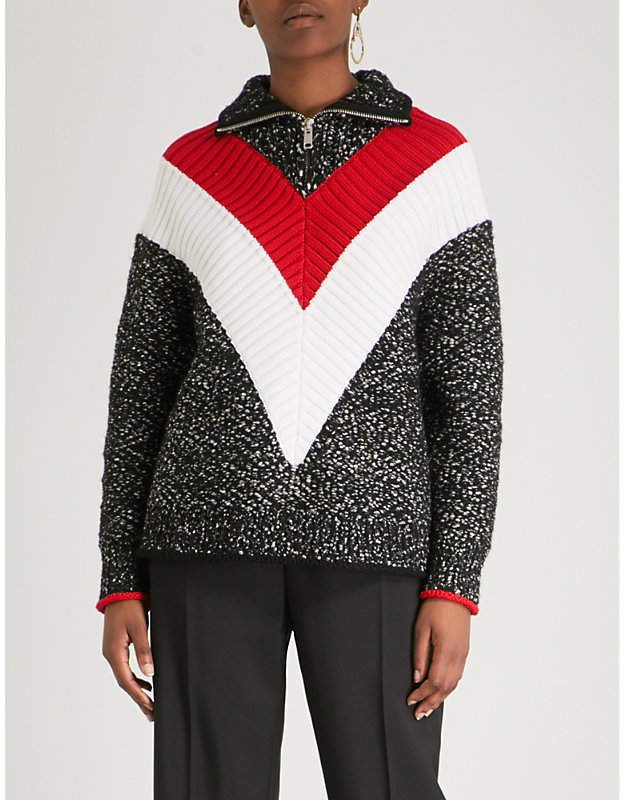 Givenchy Striped knitted jumper