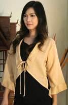 Handmade Cotton Blouse, 'Thai Sands'