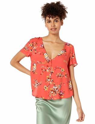 Obey Womens Pinot Shirt Blouse