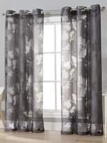 Kensie Aster Burnout Grommet Window Panels (Set of 2)