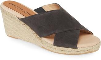 Patricia Green Annabelle Espadrille Wedge Slide Sandal
