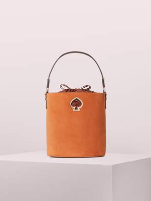 Kate Spade suzy suede small bucket bag