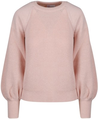 RED Valentino Punch Sleeve Sweater