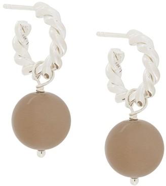 Isabel Lennse Pendant Hoop Earrings