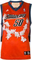 Night Market - Charlotte embroidered NBA tank - women - Polyester - XXXS