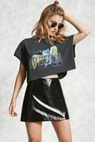 Forever 21 FOREVER 21+ Patent Mini Skirt