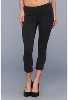 Hue Cotton Capri Legging
