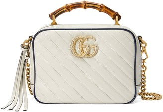 Gucci GG Marmont leather small shoulder bag